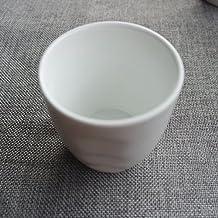 TBSB Magnesia Porcelana Ceramica Blanca Taza, Taza, Taza,Un