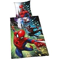 Herding Bettwäsche-Set Spiderman, Baumwolle, Mehrfarbig, 200 x 140 cm