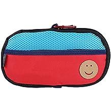 OSTENT Bolsa protectora suave de viaje Bolsa de almacenamiento Carcasa Funda compatible con Sony PS Vita PSV - Color Verde Rojo