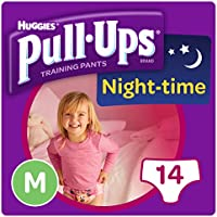 Huggies Pull-Ups Night Time Medium Potty Training Pants for Girls
