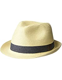 Fred Perry Straw Trilby Homme Hat Naturel
