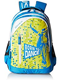 e1e341d18412 Genius Expression Polyester 31 Ltrs Blue School Bag (Expression 1704 Blue  19)