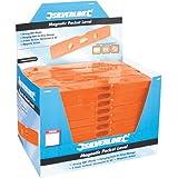 Silverline 868507 Boîte présentoir de 40 niveaux de poche magnétiques