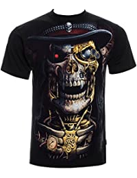 Spiral Direct Steampunk Reaper T Shirt (Noir)