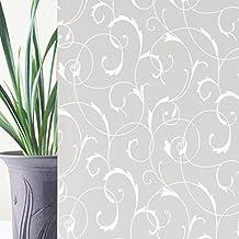 Rabbitgoo® Vinilo Pegatina de Ventanas Adhesiva Pegatina Privacidad Efecto 3D Decorativa para Cristal Pelicula Decorativa Electrostática para Ventana 90cm*200cm