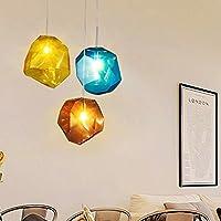 candelabro YYF Piedras de Color de la Lámpara Creativa Moderna Minimalista Led Lámparas Artísticas Lámparas de