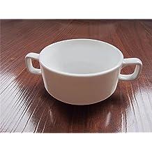 Envío GRATIS. WanJiaMenShop Tazas de cerámica de Doble Oreja Tazas de cerámica Magnesia Reforzada Taza de