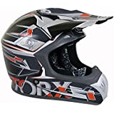 Casque Moto Cross Marvin 2 Gris Taille L