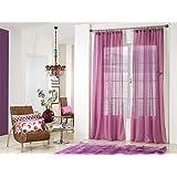 Rioma Brisa - Visillo, 200x270 cm, color violeta y morado