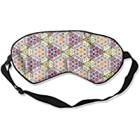 Comfortable Sleep Eyes Masks Retro Floral Pattern Sleeping Mask For Travelling, Night Noon Nap, Mediation Or Yoga preisvergleich bei billige-tabletten.eu