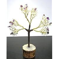 Wunderschöne 101Gramm klar Quarz Amethyst Baum Crystal Healing Home Office Geschenk Reiki Feng Shui Meditation... preisvergleich bei billige-tabletten.eu