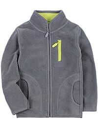 Jitong Fleecejacke Kinder Jungen Hoodies Sweatshirt Kapuzenpulli Outwear Jacke Softshell mit Kapuze
