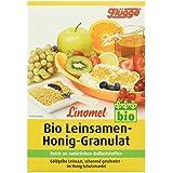 Flügge Linomel Leinsaat-Honig-Granulat, 3er Pack (3 x 250 g)