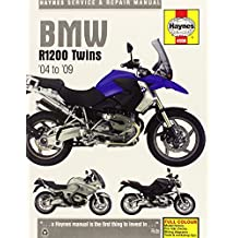 Haynes BMW R1200 Twins Service and Repair Manual: R1200 GS. 1170cc. 2004 to 2009, R1200 GS Adventure. 1170cc. 2006 to 2009, R1200 ST. 1170cc. 2005 to 2007, R1200 RT. 1170cc. 2005 to 2009, R1200 S. 117