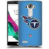 Official NFL Plain Tennessee Titans Logo Soft Gel Case for LG G4 / H815 / H810