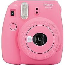 Fujifilm Instax Mini 9 - Cámara instantánea, color flamingo pink