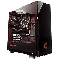 Cyberpower Regiment 1050 Gaming PC - AMD Athlon X4 950 CPU, Nvidia GTX 1050 2GB GPU, 8GB 2400MHz RAM, 1TB HDD, Internal Wifi, Windows 10, Tempered Glass Case