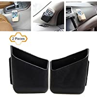 cogeek 2pcs/set caja multiusos teléfono facturas guante coche gafas de montura Soporte