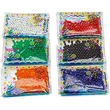 4690ba0e3 24 bolsas de bolas de gel ecológicas para decoración ...