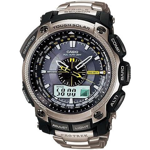 Casio PROTREK titanio Mens Reloj prg500t-7dr