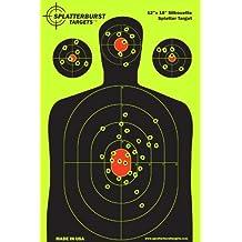 25 Pacchetto - 30.5 cm x 45.72 cm Silhouette SPLATTERBURST Obiettivi di ripresa - Vedere (Bb Gun Target)