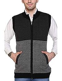 aarbee Sleeveless Zipper Sweater for Men