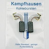 KS40 6,3x6,3mm Kohlebürsten Kohlen für BLACK/&DECKER KS 40