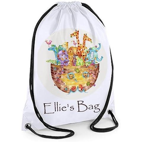 Personalised Swim Bag,Gym Bag,Sports Bag,Waterproof,Noah by Tigerlilyprints