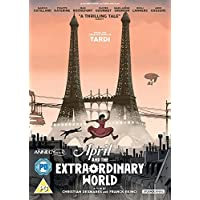 April And The Extraordinary World [DVD] [2016] UK-Import, Sprache-Englisch.