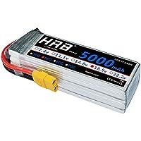 HRB 5000mAh 18.5V 50C 5S Lipo batería Pack XT90 for Modelismo Rc Car Heli Plane Boat Truck FPV Auto helicóptero avión Toys