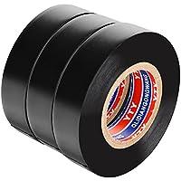 Isolierband Dichtungsband schwarz 20m für Rohrabdichtung, Rohr abdichten wasserdicht 3 Roll