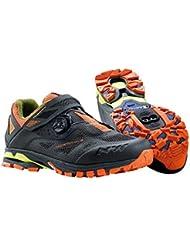 NORTHWAVE ARAÑA PLUS 2 zapatos bicicleta de montaña, antra-negro-naranja, schuhgröße:gr. 44
