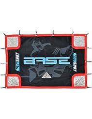 Base 74631 Accushot Filet pour cage de hockey avec housse et sangles élastiques Noir/bleu