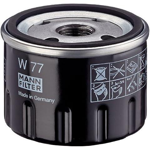 Mann+Hummel W77 Filtro dell'olio