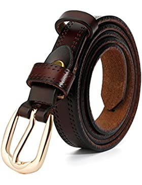 Simples Salvajes Señoras Correa/Cinturones De Moda Decorativa-C 95cm(37inch)