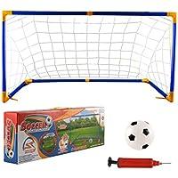 dc4811fd7a6ec Lommer But de Foot, Enfant Cage de Foot Mini But de Football Goal Football  Cage