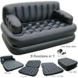 Brand Enterprise Freedom Bestway 5 in 1 Plastic Inflatable Sofa Air Bed with Air Pump