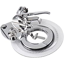 aihometm - prensatelas para máquina de coser para coser flores de punto, universal, decorativo