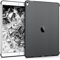"""kwmobile Funda para Apple iPad Pro 10,5"""" - Smart Cover compatible con case trasero - para tablet de TPU silicona - Carcasa para tableta en negro"""