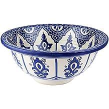 Old Fes - Lavandino in ceramica dipinta