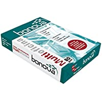 Bonova A-4 500H - Paquete de 500 hojas de papel, A4, color blanco, pack de 1