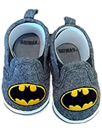 503f21abd075 Batman Boys Baby Infant Crib Shoes Slippers