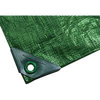 Noor - Telone protettivo, 200 g/m², colore: Verde