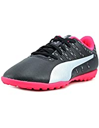 Puma Kids Unisex EvoPower Vigor 4 TT Jr (Little Kid/Big Kid) Puma Black/Puma Silver/Quiet Shade/Bright Plasma... - B01ID8MXE6