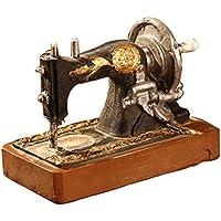 Healifty Decoración de Mesa Vintage Modelo de Máquina de Coser Escultura Modelo para Oficina Decoración de