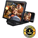 KBF Mobile Phone 3D Screen Magnifier 3D Video Screen Amplifier Eyes Protection Enlarged Expander Compatible With Xiaomi, Lenovo, Apple, Samsung, Sony, Oppo, Gionee, Vivo Smartphones (One Year Warranty)