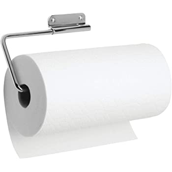 Home Improvement Fast Deliver Adhesive Paper Towel Wooden Holder Storage Rack Organizer Tissue Shelf Under Cabinet Cupboard For Kitchen Bathroom Home Superior Performance