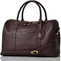 PacaPod Firenze Claret Designer Baby Changing Bag - Luxury Leather 3 in 1 Organising System