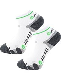 Hi-Tec 2017 Mens X Support Court Quarter Low Ankle Socks Pack Of 2