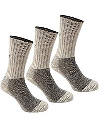 Karrimor Heavyweight Boot Socks Black Washable 3 Pack Kids Accessories